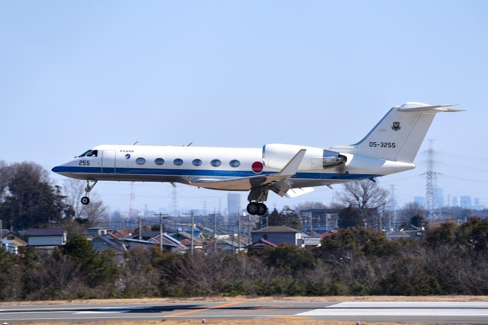 tsubasa0624さんの航空自衛隊 Gulfstream Aerospace G-IV (05-3255) 航空フォト