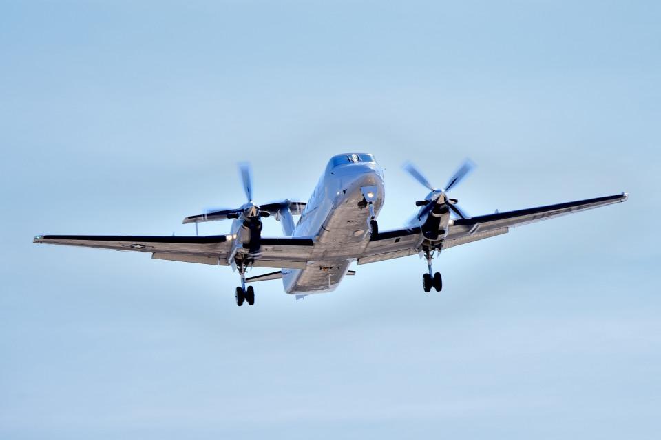 tsubasa0624さんのアメリカ空軍 Beechcraft 200 Super King Air (86-0081) 航空フォト