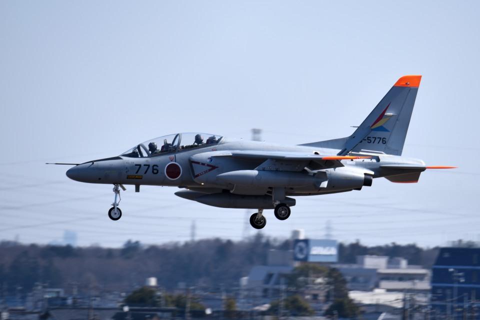 tsubasa0624さんの航空自衛隊 Kawasaki T-4 (96-5776) 航空フォト