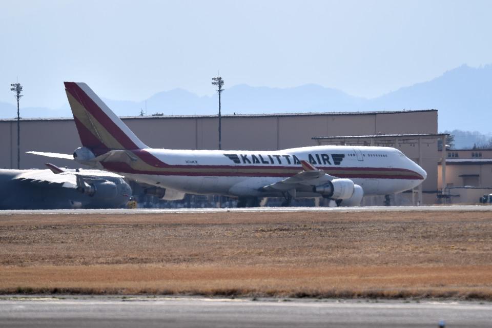 tsubasa0624さんのカリッタ エア Boeing 747-400 (N742CK) 航空フォト