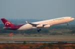RUSSIANSKIさんが、スワンナプーム国際空港で撮影したマダガスカル航空 A340-313Xの航空フォト(飛行機 写真・画像)