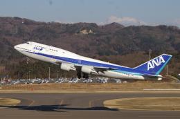 ペン太さんが、福島空港で撮影した全日空 747-481(D)の航空フォト(飛行機 写真・画像)