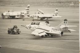 rjccさんが、千歳飛行場で撮影したアメリカ海兵隊 F9F-2の航空フォト(飛行機 写真・画像)