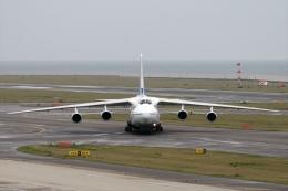 JPN Spotterさんが、中部国際空港で撮影したポレット・エアラインズ An-124-100 Ruslanの航空フォト(飛行機 写真・画像)