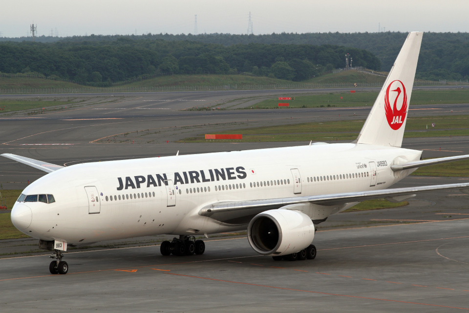 A-Chanさんの日本航空 Boeing 777-200 (JA8983) 航空フォト