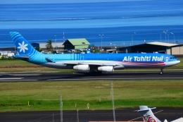 RUSSIANSKIさんが、ファアア国際空港で撮影したエア・タヒチ・ヌイ A340-313Xの航空フォト(飛行機 写真・画像)