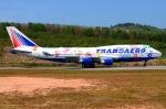 RUSSIANSKIさんが、プーケット国際空港で撮影したトランスアエロ航空 747-412の航空フォト(写真)