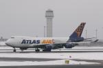 ATOMさんが、新千歳空港で撮影したアトラス航空 747-47UF/SCDの航空フォト(写真)