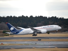 pochiさんが、成田国際空港で撮影したアエロメヒコ航空 767-25D/ERの航空フォト(飛行機 写真・画像)