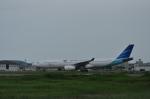 kumagorouさんが、仙台空港で撮影したガルーダ・インドネシア航空 A330-341の航空フォト(写真)