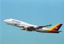 amagoさんが、シドニー国際空港で撮影したエア・パシフィック 747-412の航空フォト(飛行機 写真・画像)