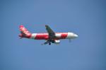 べちさんが、シンガポール・チャンギ国際空港で撮影したエアアジア A320-216の航空フォト(写真)