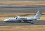 じーく。さんが、羽田空港で撮影した国土交通省 航空局 DHC-8-315Q Dash 8の航空フォト(飛行機 写真・画像)