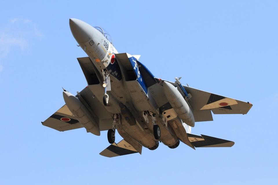 ハルモンさんの航空自衛隊 Mitsubishi F-15DJ Eagle (52-8088) 航空フォト
