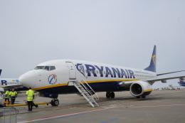 Caravelle se210さんが、フランクフルト・ハーン空港で撮影したライアンエア 737-8ASの航空フォト(飛行機 写真・画像)