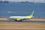 あっしーさんが、羽田空港で撮影したAIR DO 737-54Kの航空フォト(写真)