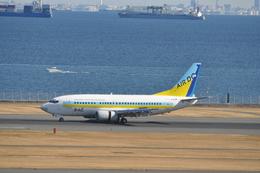 あっしーさんが、羽田空港で撮影したAIR DO 737-54Kの航空フォト(飛行機 写真・画像)