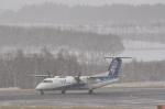kumagorouさんが、女満別空港で撮影したエアーニッポンネットワーク DHC-8-314Q Dash 8の航空フォト(飛行機 写真・画像)
