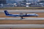 tsubasa0624さんが、伊丹空港で撮影したANAウイングス DHC-8-402Q Dash 8の航空フォト(写真)