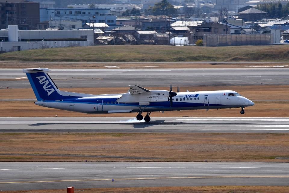 tsubasa0624さんのANAウイングス Bombardier DHC-8-400 (JA855A) 航空フォト