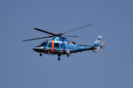 tsubasa0624さんが、八尾空港で撮影した岡山県警察 A109E Powerの航空フォト(飛行機 写真・画像)