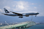 tsubasa0624さんが、関西国際空港で撮影したキャセイパシフィック航空 777-267の航空フォト(写真)