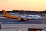 mojioさんが、成田国際空港で撮影したセンチュリオン・エアカーゴ 747-428F/ER/SCDの航空フォト(飛行機 写真・画像)