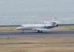 じーく。さんが、羽田空港で撮影したスイス空軍 Falcon 900EXEの航空フォト(写真)