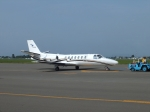 北の熊さんが、札幌飛行場で撮影した中日本航空 560 Citation Vの航空フォト(写真)