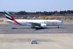 mojioさんが、成田国際空港で撮影したエミレーツ航空 777-F1Hの航空フォト(飛行機 写真・画像)