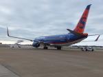 夷月さんが、メンフィス国際空港で撮影したサンカントリー・エアラインズ 737-8BKの航空フォト(写真)