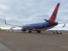 夷月さんが、メンフィス国際空港で撮影したサンカントリー・エアラインズ 737-8BKの航空フォト(飛行機 写真・画像)