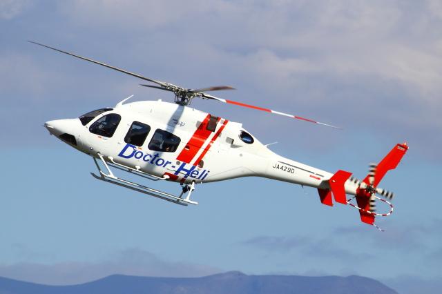 佐賀県ドクターヘリ Bell 429 JA429D 鹿児島空港  航空フォト | by Kuuさん