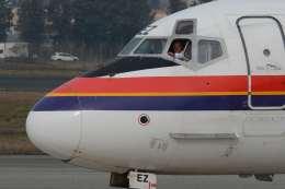 だいせんさんが、ミラノ・リナーテ国際空港で撮影したメリディアーナ・フライ MD-82 (DC-9-82)の航空フォト(飛行機 写真・画像)
