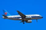 パンダさんが、成田国際空港で撮影した中国南方航空 A319-132の航空フォト(写真)