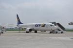 kumagorouさんが、茨城空港で撮影したスカイマーク 737-86Nの航空フォト(飛行機 写真・画像)
