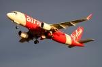RUSSIANSKIさんが、クアラルンプール国際空港で撮影したエアアジア A320-216の航空フォト(飛行機 写真・画像)