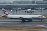 xxxxxzさんが、羽田空港で撮影したブリティッシュ・エアウェイズ 777-236/ERの航空フォト(飛行機 写真・画像)