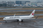 xxxxxzさんが、羽田空港で撮影した日本航空 767-346/ERの航空フォト(飛行機 写真・画像)
