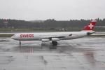 ATOMさんが、成田国際空港で撮影したスイスインターナショナルエアラインズ A340-313Xの航空フォト(飛行機 写真・画像)