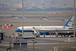 kumariairさんが、羽田空港で撮影したアメリカ空軍 C-32A (757-2G4)の航空フォト(飛行機 写真・画像)