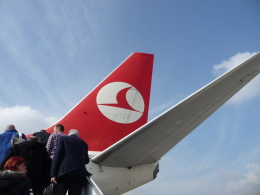くいんけさんが、サビハ・ギョクチェン国際空港で撮影したターキッシュ・エアラインズの航空フォト(飛行機 写真・画像)