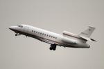 maverickさんが、羽田空港で撮影したベクテル・コープ Falcon 900EXの航空フォト(写真)