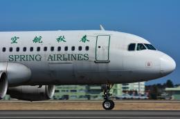 パンダさんが、茨城空港で撮影した春秋航空 A320-214の航空フォト(写真)
