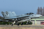 パンダさんが、茨城空港で撮影したアメリカ海兵隊 F/A-18C Hornetの航空フォト(写真)