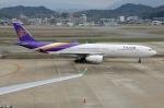 Cipher01さんが、福岡空港で撮影したタイ国際航空 A330-343Xの航空フォト(写真)