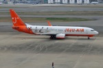 Cipher01さんが、福岡空港で撮影したチェジュ航空 737-8BKの航空フォト(写真)