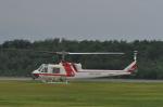 kumagorouさんが、石見空港で撮影した朝日航洋 204B-2(FujiBell)の航空フォト(写真)