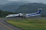 kumagorouさんが、石見空港で撮影したANAウイングス DHC-8-402Q Dash 8の航空フォト(写真)