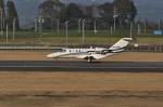 kumagorouさんが、鹿児島空港で撮影した安藤商会 525A Citation CJ2の航空フォト(飛行機 写真・画像)